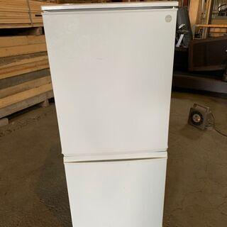2012年製 SHARP 2ドア冷蔵庫 SJ-K14X-F…