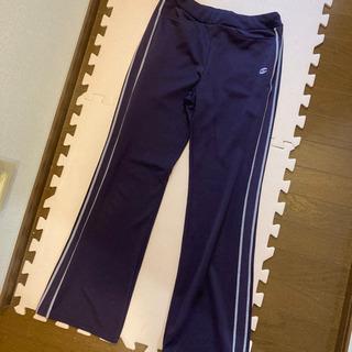 champion トレーニングパンツ ジャージ Lサイズ 紫
