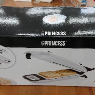 PRINCESS ホットスナックメーカー 「132409」 開梱...