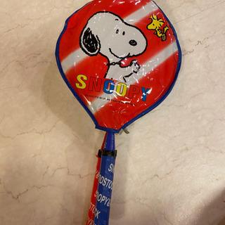 【SNOOPY】バドミントンラケット(羽根付)