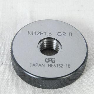 3227 OSG ネジリングゲージ M12 P1.5 GRⅡ G...