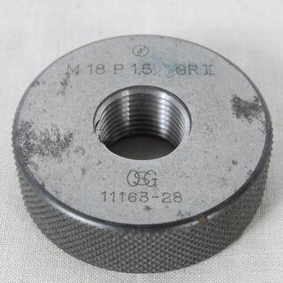 3229 OSG ネジリングゲージ M18 P1.5 GRⅡ G...