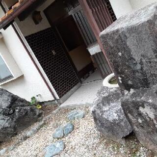 ☆庭石を無料でお譲りします☆