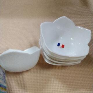 小鉢 花型 6枚セット