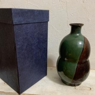 琉球焼 フラワーベース(花瓶)島袋常秀 作品
