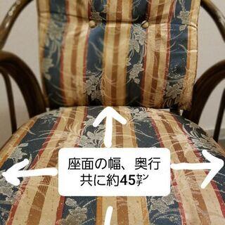 藤の回転椅子 − 京都府