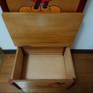Disney ミッキーハンガーチェスト - 家具