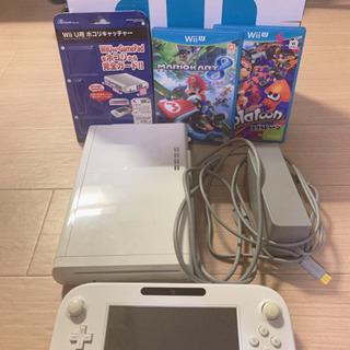 【ネット決済・配送可】Wii U & ソフト2本セット