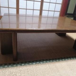 木製のローテーブル 9/23迄受付 - 高岡市