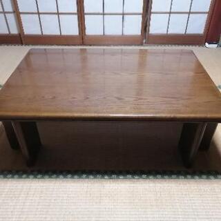 木製のローテーブル 9/23迄受付