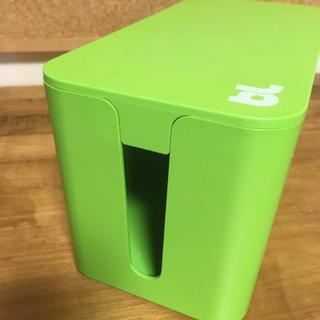 【お引き渡し終了】⭐️ ケーブルボックス ミニ BlueLounge グリーン の画像