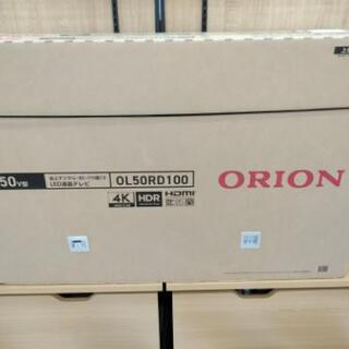 新品未開封OL50RD100 液晶テレビ ORION ブラック ...