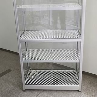 アルミ 全面ガラス 温室 コンセント付き