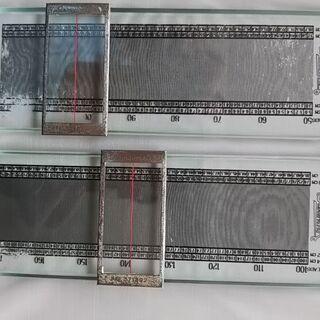 デンシメーター 織物、メリヤス密度染むら自動測定器