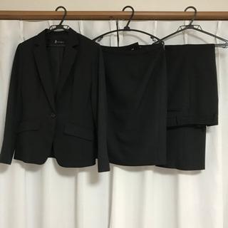 [値下げ]レディーススーツ 3点セット 11号