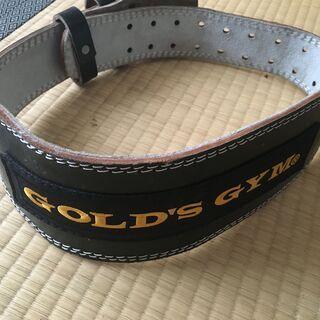 ★ゴールドジム(GOLD`S GYM) ブラックレザーベ…