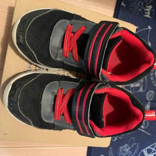 運動靴 17cm