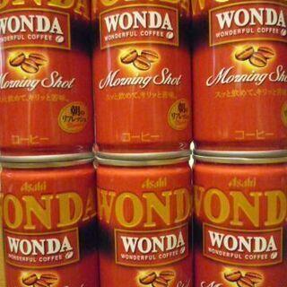 缶コーヒー Asahi WONDA 6本