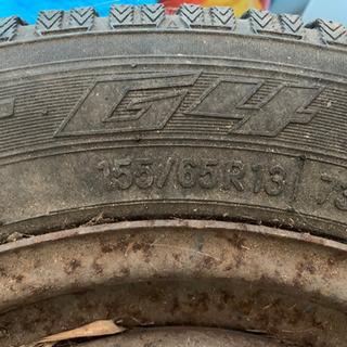 155/65R13 スタッドレスタイヤ タイヤ以外の使い方を推奨...