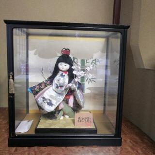 日本人形 ケース付き 9/23迄受付
