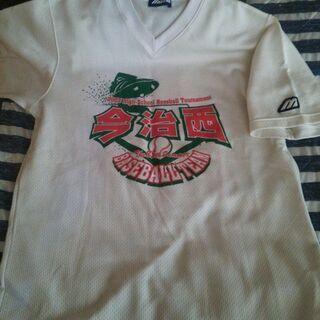 今治西高校 野球ベースボールTシャツ Lサイズ