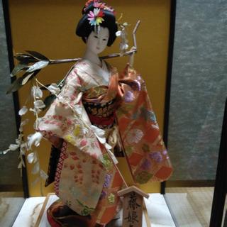 日本人形藤娘