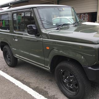 試乗車🌟新型ジムニー、XL.スズキセーフティ付、5速MT