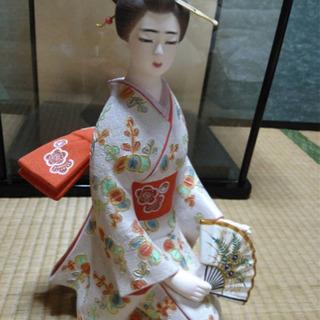 日本人形(陶磁器/色差し加工/舞妓さん)