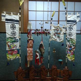 五月人形鯉のぼり飾り(室内用)