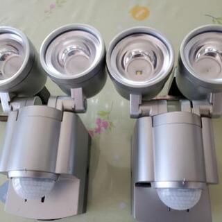ELPA  屋外用LEDセンサーライト 2台セット