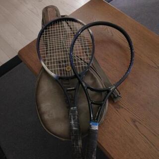 テニスラケット 二本