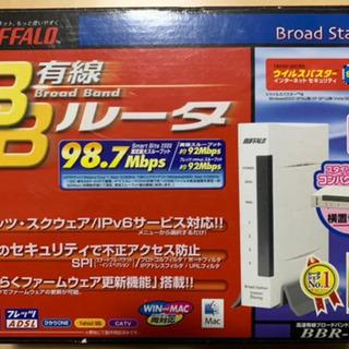 BUFFALO 有線ルーター BBR-4HG