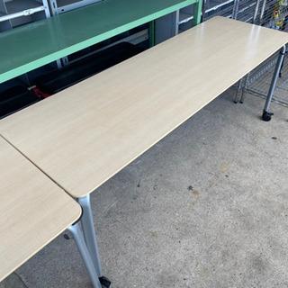 コクヨ カリブシリーズ ミーティングテーブル 机 キャスター付き