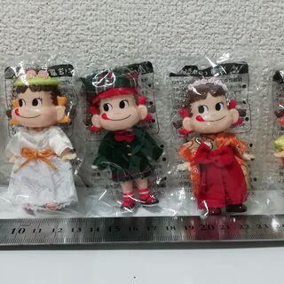 【未開封】ペコちゃん ミニ人形 5体セット