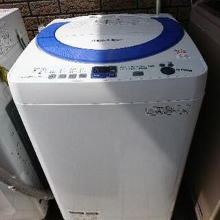 ★全自動洗濯機 シャープ[ES-T706]2014年 7キロ 💳...