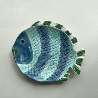 魚のプレート イタリア製 平皿