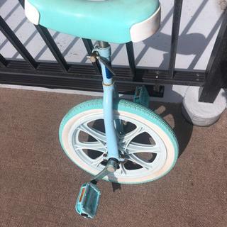 一輪車(要パンク修理) - 子供用品