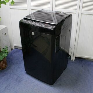R1983) ハイセンス 全自動洗濯機 5.5kg ガラストップ...