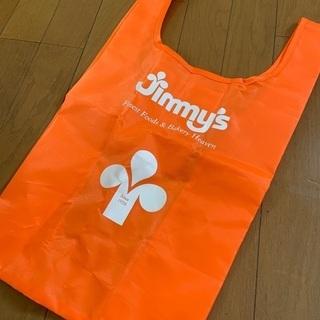 ジミー・jimmy エコバック(未使用)オレンジ