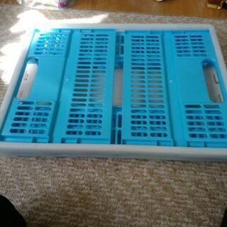 【予定あり】アウトドア 折りコンテナ コップ スモークチップ - 売ります・あげます