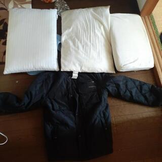 枕3つとジャケット