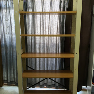 洋服、靴、本棚などマルチに使える!シンプル木製ラック。子供部屋に...