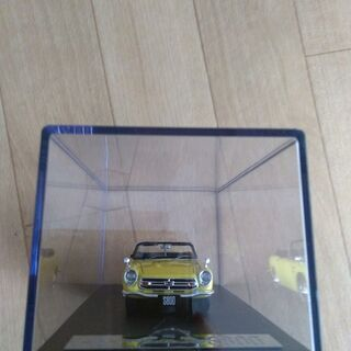 レジンモデル HONDA S800 黄色