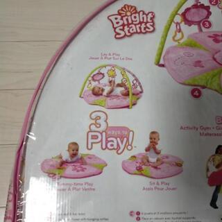 ベビープレイジム ピンク  赤ちゃん用品玩具