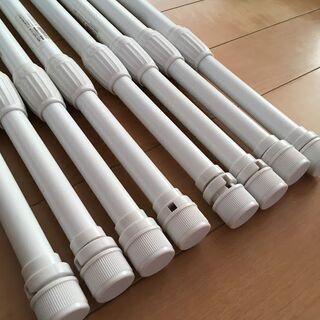 のぼり旗 3mポール 強風用 白色 2段スライド式 8本 店舗 宣伝 - 相楽郡