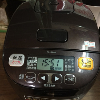 JH00904 ZOJIRUSHIマイコン炊飯ジャーNL-…