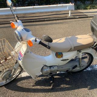 スーパーカブ110 コルチナホワイト