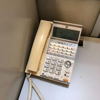 ビジネスフォン サクサTD610(W)を無料でお譲り致します。