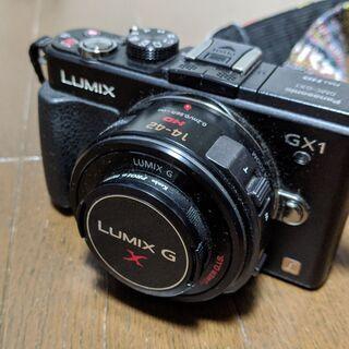 【ミラーレス一眼カメラ】パナソニック DMC-GX1 ルミックス...
