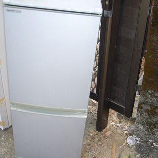 値下げシャープ2ドア冷蔵庫2009年高知市内配達込